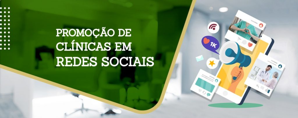 promoção de clínicas em redes sociais